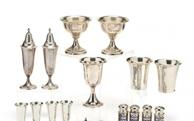 Sterling Silver & Silverplate Dining Accessories