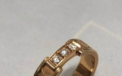 Tiffany - 18 kt. Pink gold - Ring - 0.16 ct Diamond