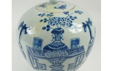 A Chinese Republic period green glazed pottery ginger jar an...