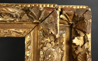 "A Pair of 19th Century Carved Frames. One 23.5"" x 40"""