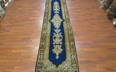 Antique Persian Kirman Runner-2921