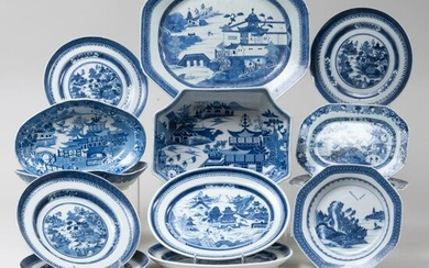 Assembled Chinese Export Porcelain Part Service and a