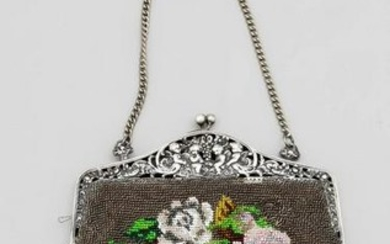 Bag with rich pearl embro