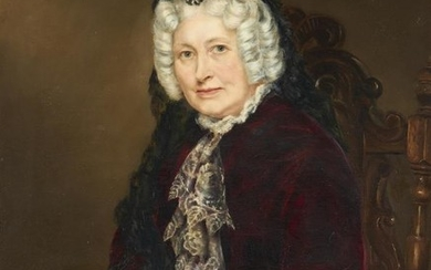 British School (19th century), Portrait of Lydia Marriott Morland (1774-1843)