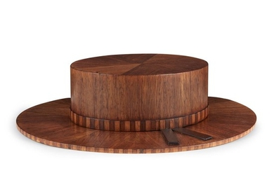 Carved and mahogany veneered hat late 19th century 15...