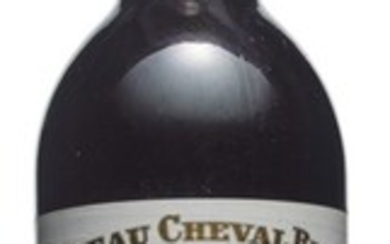 Château Cheval-Blanc 1976, Saint-Emilion, 1er grand cru classé (A) Slightly bin-soiled and nicked labels Levels five base of neck or better and one top shoulder