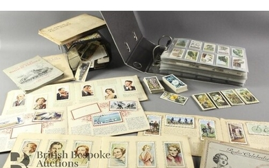 Large quantity of tea and cigarette cards, including Tetley,...