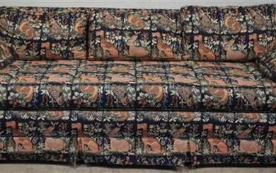 Machine-made Tapestry Upholstered Sleep Sofa , Width: 83 in