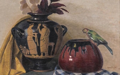 PAINTING TWO VASES FROM THE EARLY 20TH CENTURY