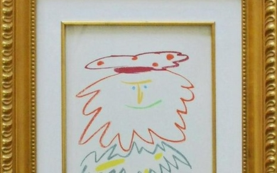 Pablo Picasso Lithograph Stories without love 1968