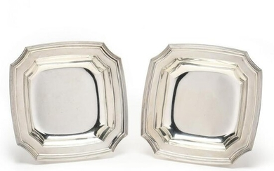 Pair of Tiffany & Co. Sterling Silver Serving Bowls