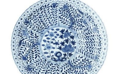 Plate in chinese porcelain, Guangxu
