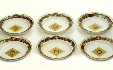 SET OF 6 PORCELAIN PLATE FROM THE ORDER...