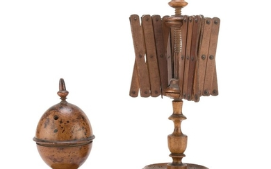 Spinning Set In Boxwood - 19TH CENTURY