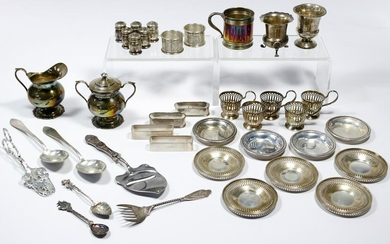 Sterling Silver and European Silver (830) Object