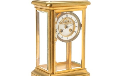 NOT SOLD. Vincenti & Cie: A French table clock. Paris, first half of the 19th...