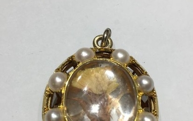 14 kt. Yellow gold - Pendant Mixed