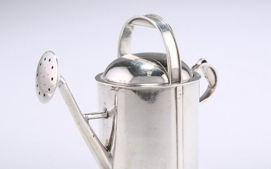 A VICTORIAN NOVELTY SILVER ATOMISER, by Thomas Johnson