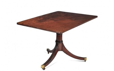 A mahogany rectangular top occasional table, early 19th century