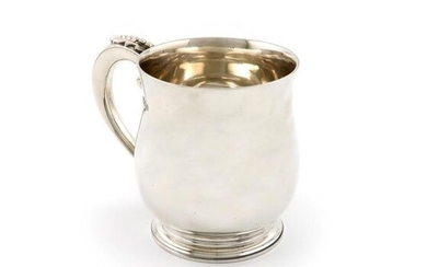 A silver mug, by F.T Ray and Co,...