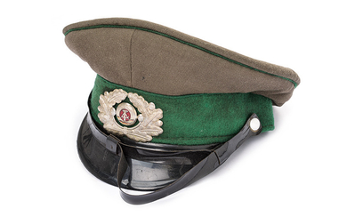 AN OFFICER'S JACKET AND HAT