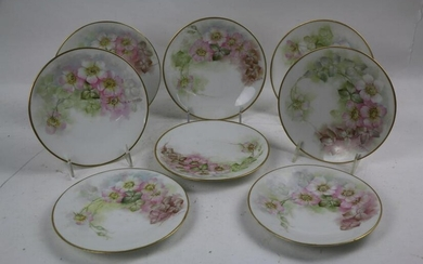 ANTIQUE FRENCH LIMOGES PORCELAIN GROUPING