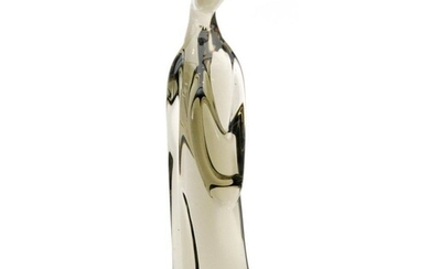 An Italian Murano glass sculpture in the form of a stylised ...