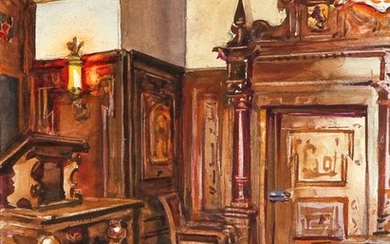 Andrey Avinoff wc German Nationality Room - Cathedral