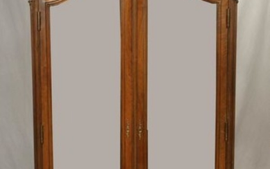 FRENCH, CARVED WALNUT ARMOIRE