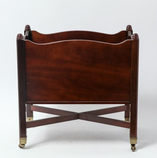 Georgian Manner Mahogany Canterbury
