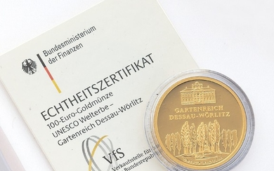 Gold coin, 100 EURO, Germany, 2013 ,...