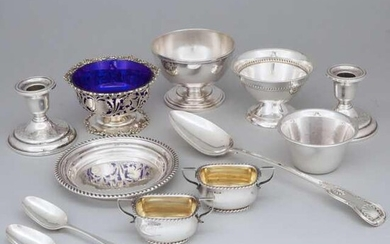 Group of English, Scottish and North American Silver