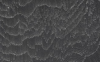 LILY KELLY NAPANGARDI (born 1948, Luritja language group) Sandhills and Riverbeds 2018 synthetic polymer paint on Belgian linen