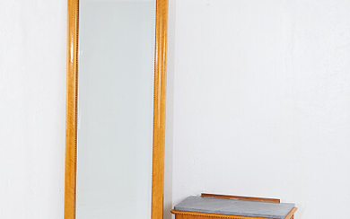 Mirror with console table Spegel med konsolbord
