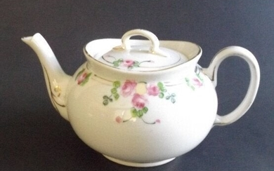 Nippon Hand Painted Porcelain Teapot 1900-1910s