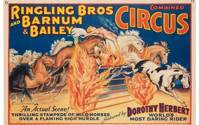 Ringling Brothers and Barnum & Bailey. Dorothy Herbert.