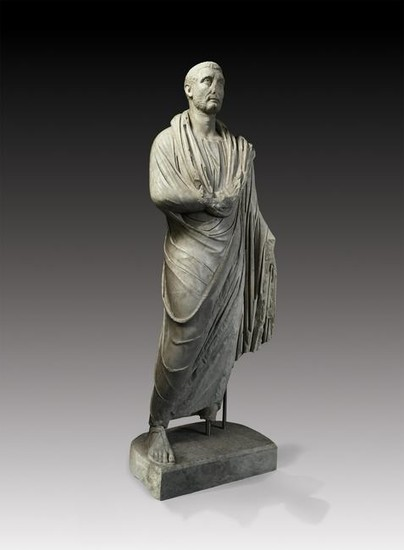 Roman Life-Size Statue of an Important Magistrate