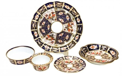 Royal Crown Derby Mixed Serving Pieces in Imari