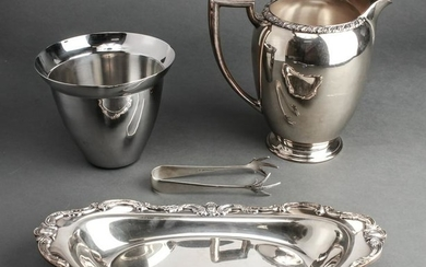 Silver Plate & Chrome Table Articles, 4