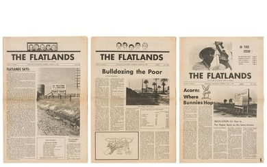 The Flatlands Poverty Conscious Newspaper, First Three